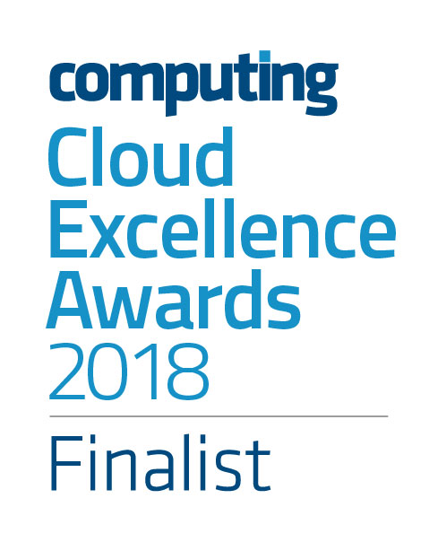 Cloud excellence awards 18 logo FINALIST