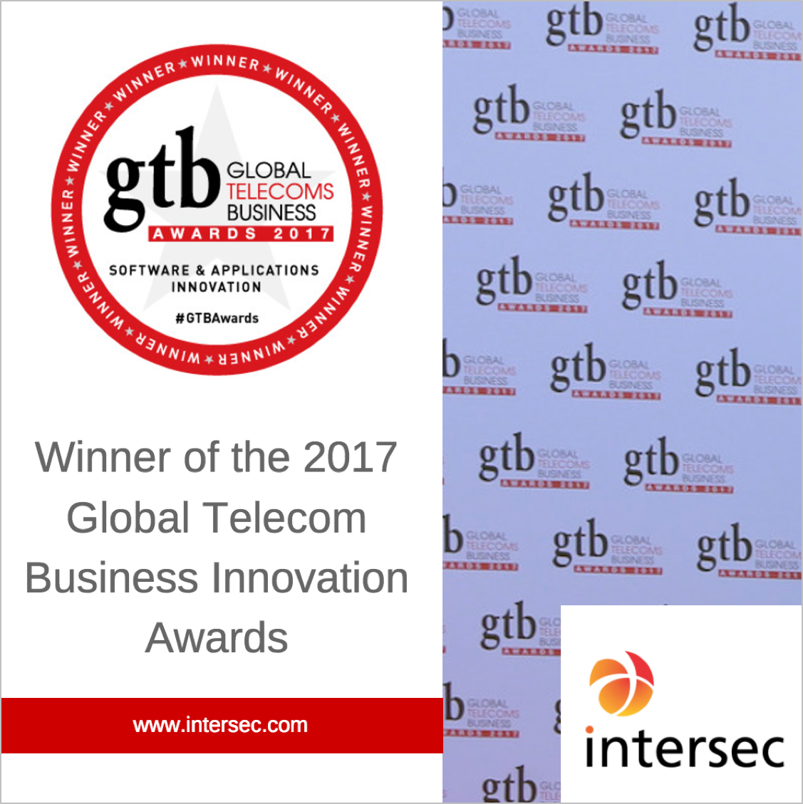 GTB innovation Awards 2017