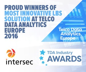 Intersec wins the Most Innovative LBS Solution award!