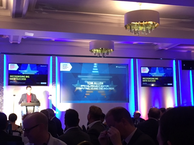 opening at big data excellence awards